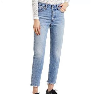 Levi's Wedgie Skinny High Rise Ankle Jeans, 28